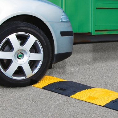 TOPSTOP speedbump made from recycled materials
