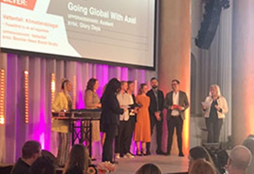 Axelent winner of the Swedish Content Awards