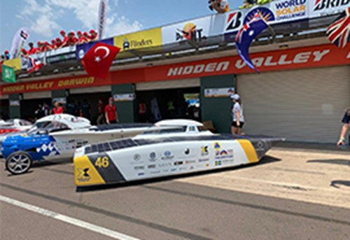 Bridgestone World Solar Challenge 2019 started yesterday
